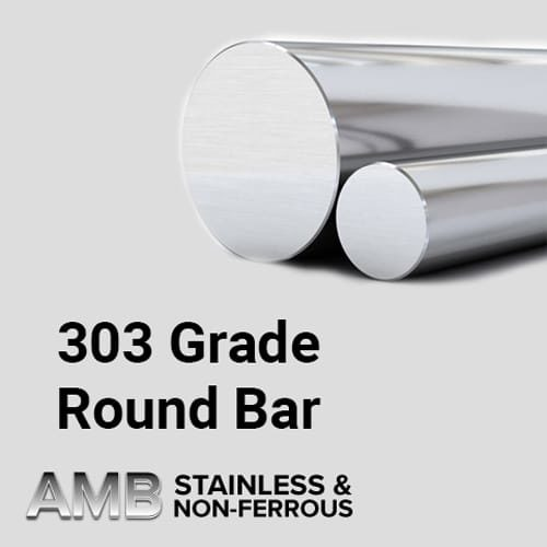 "Stainless Steel Sheffield | 2 1/2"" Diameter 303 Stainless Steel"