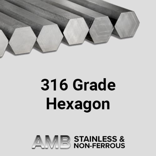 Stainless Steel Sheffield | 50.00 AF Hexagon 303 Stainless Steel