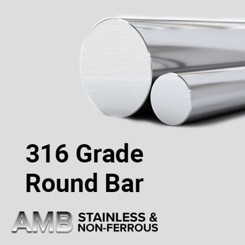 "Stainless Steel Sheffield | 2 1/2"" Diameter 316 Stainless Steel"