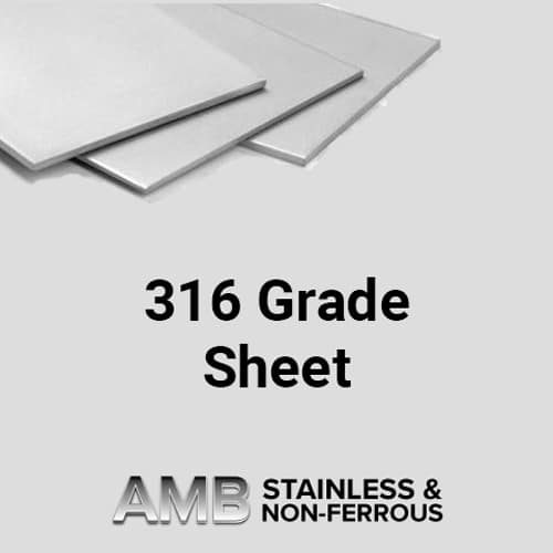 316 Grade Sheet